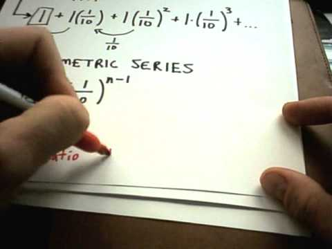 What is a Series? Discusses Geometric Series and the Test for Divergence