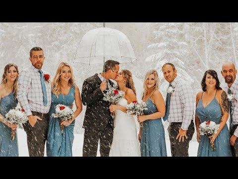 Lance Houston - Bride & Groom Get Married in Rare September Snowstorm
