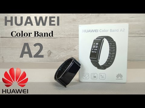 Huawei Color Band A2 Full Review Greek