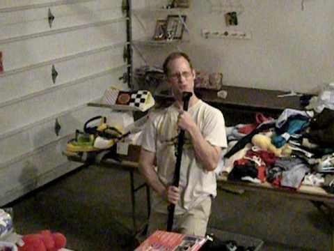Garage Sale Clean-up...Karaoke style