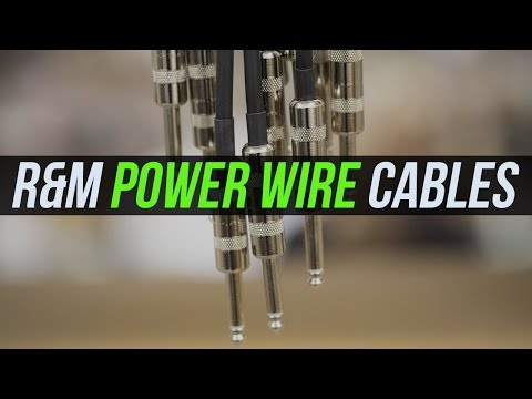 R&M Tone Technology Power Wire Cables