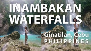 INAMBAKAN FALLS Ginatilan Cebu Philippines