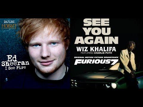 Ed Sheeran vs Wiz Khlalifa feat. Charlie Puth - I See Fire Again