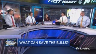 The bulls are drowning, but will it be the Fed to the rescue?