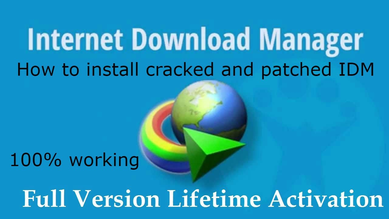 how to install cracked idm version