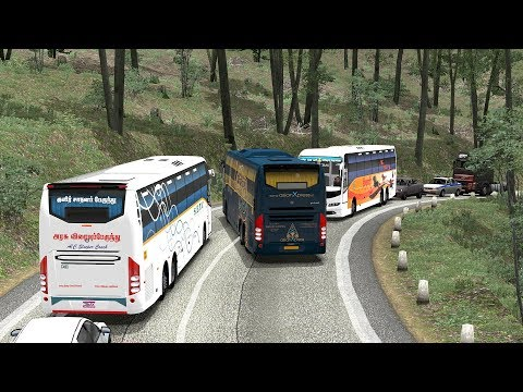 Bus Driving | Chance Takers Like This Are Accident Makers | Euro Truck Simulator 2 Bus Mod