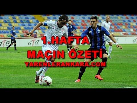 1.Hafta | Kayseri Erciyesspor 0-0 Boluspor'umuz | Maçın Özeti