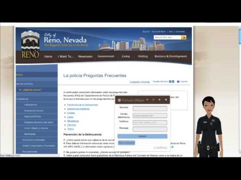 Reno Police Department Uses CodeBaby in Spanish