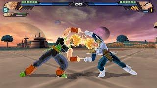Bardock and Vegeta Fusion Dance in Super Saiyans (Dragon Ball Z Budokai Tenkaichi 3 Mod)