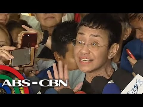Freed on bail, Maria Ressa rallies journalists to hold the line
