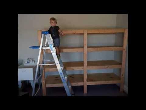 easy-garage-shelves!
