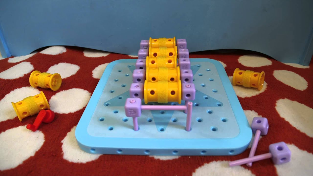 "Stack of Wheels"" Gol Blox Games for Girls Playground"