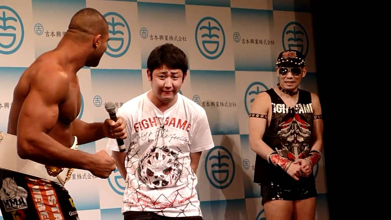 Alistair Overeem Punches Japanese Comediam At The Yoshimoto Party