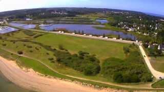 Vidéo aérienne du trait de Mesquer (44) - 08 2014