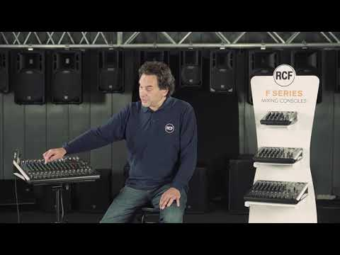 RCF - F Series Mixing Console