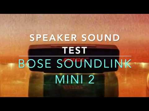 BOSE SoundLink Mini 2  review and sound test