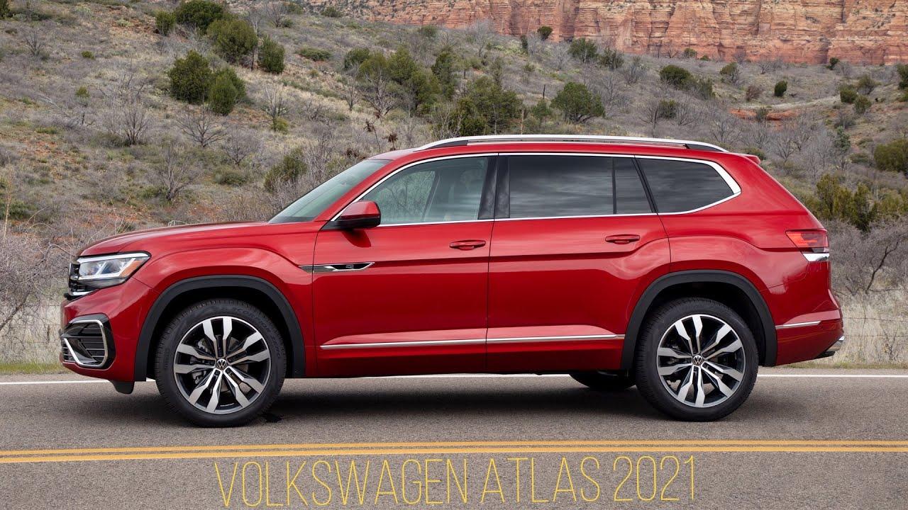 Volkswagen Atlas 2021   Not Luxury SUV - VW said - YouTube