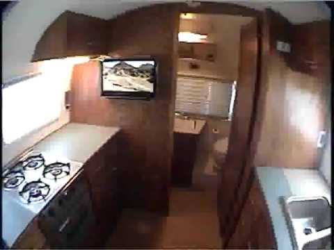Airstream globe trotter interior restoration youtube - Airstream replacement interior panels ...