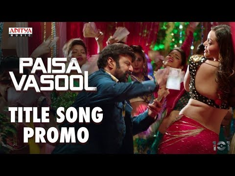 Paisa Vasool Title Song Promo || Paisa...