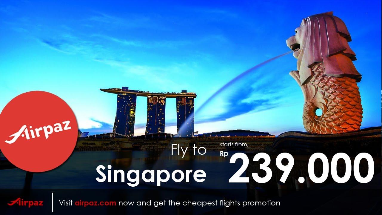 Harga Promo Tiket Pesawat Jakarta Singapore Mulai Dari Rp 239 000