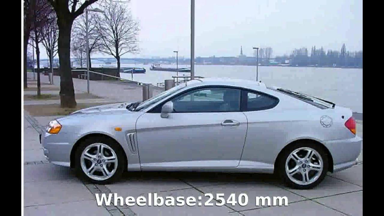 2006 Hyundai Tiburon 2.7 V6 GLS - Specs, Details - YouTube