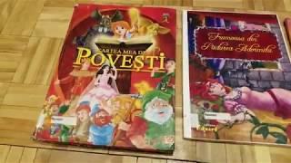 Ева и Доминик слушают сказки на румынском языке