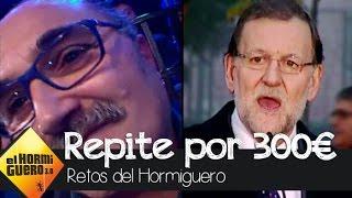 El público de El Hormiguero se lleva 300€ gracias a Mariano Rajoy