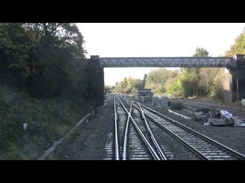 Class 66 cab ride Severn Tunnel to Cardiff