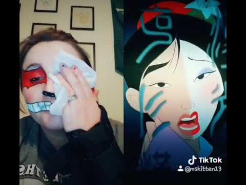Tik Tok ~ Mulan makeup remover