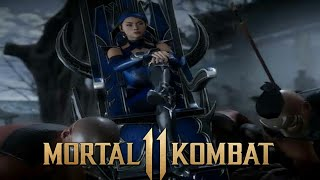 Mortal Kombat 11 - kitana a rainha dos leques