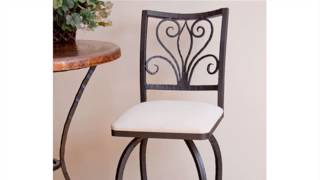 How To : Refinish A Wrought Iron Bar Stool