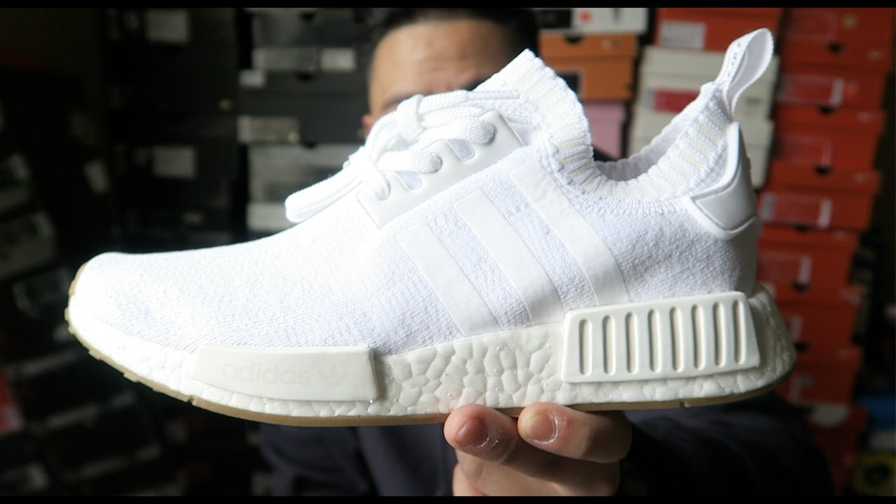reputable site 38aaf 2e877 ADIDAS NMD RUNNER PK PICKUP!! | WHITE GUM!! | COME UP IS REAL!! | + HOW TO  MAINTAIN NMD TOE BOX