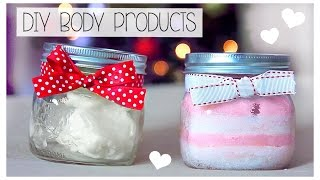 Easy DIY Beauty Products - Body Scrub & Body Butter! with Charity Vance