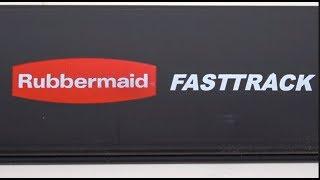 Rubbermaid FastTrack Garage Storage Rail System - Installation & Review