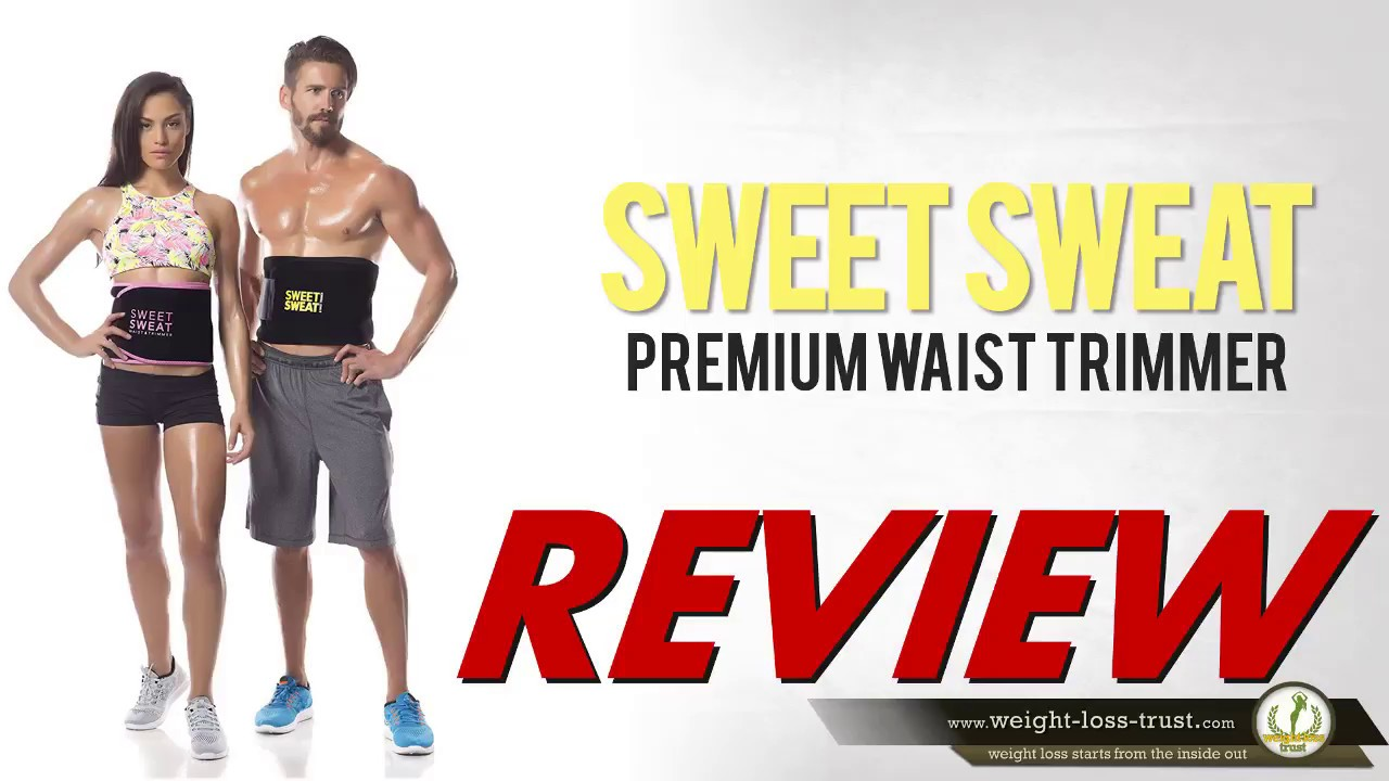 c528198dfa Waist Trimmer Sweet Sweat for Losing Belly Fat Reviews - YouTube