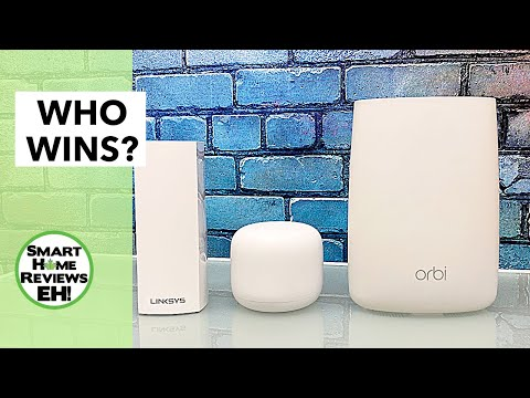The BEST MESH WIFI for your Home Office/Smart Homes? Netgear Vs. Linksys Vs. Google!