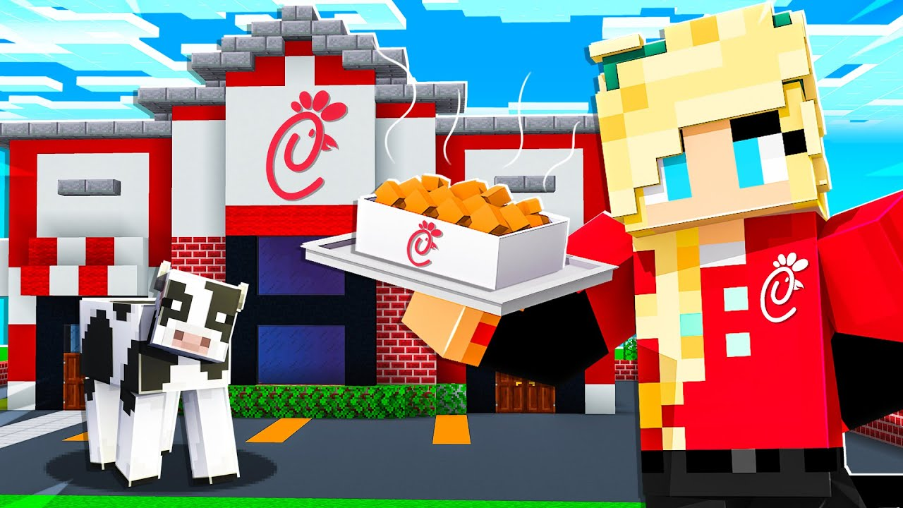 Download I Opened a SECRET Restaurant on Preston's Minecraft Server!