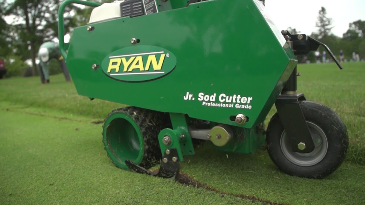 Ryan Jr Sod Cutter And Attachments Youtube
