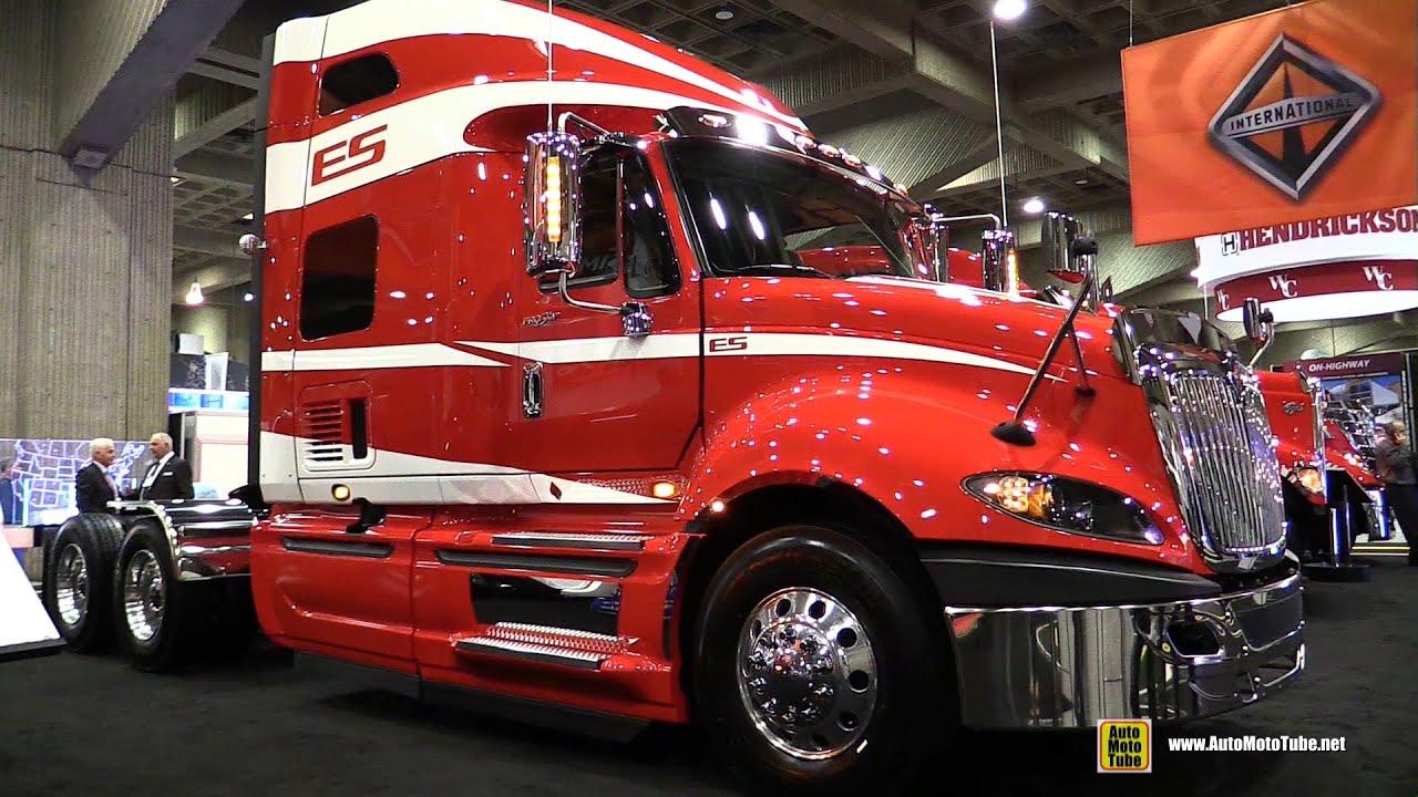2015 International Prostar Truck With Cummins Isx 450hp Engine Walkaround 2015 Expocam