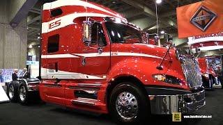 2015 International ProStar Truck with Cummins ISX 450hp Engine - Walkaround - 2015 Expocam