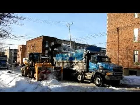 SWEET SNOW REMOVAL JOB IN VERDUN MONTREAL / 01-10-18