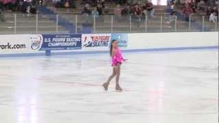 2013 Southwestern Regional US Figure Skating Championships, Juvenile Girls - Crystara Kosadnar