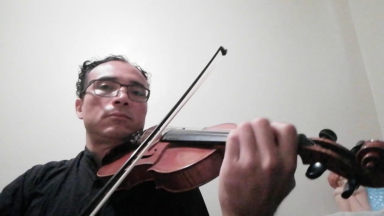 God rest ye merry gentlemen (Christmas song) violin - YouTube