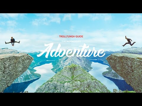 TROLLTUNGA!! YOUR UNIQUE & FUNNY GUIDE | THE NORWEGIAN ADVENTURE DAY 3