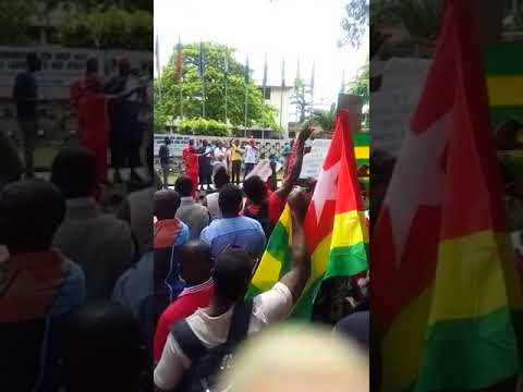 Togolese Protest at ECOWAS, Togo Embassy in Lagos  7