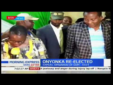 Richard Onyonka retains Kitutu Chache constituency seat
