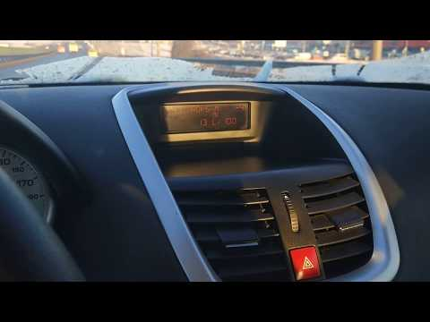 Peugeot 207 1.4 hdi 2011 М/Т - Расход топлива