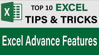 Advanced Tips & Tricks in Microsoft Excel 2016 (Lecture 27)