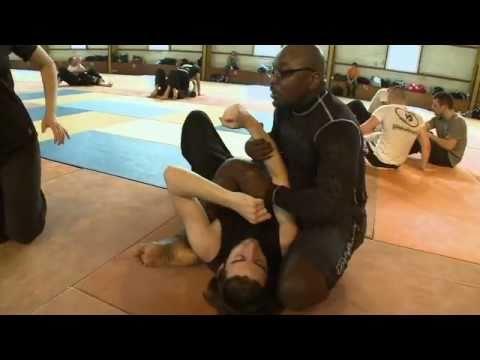 Bertrand Amoussou Stage De Combat Au Sol, MMA Training,  Au Club De Krav Maga De Saint-Etienne