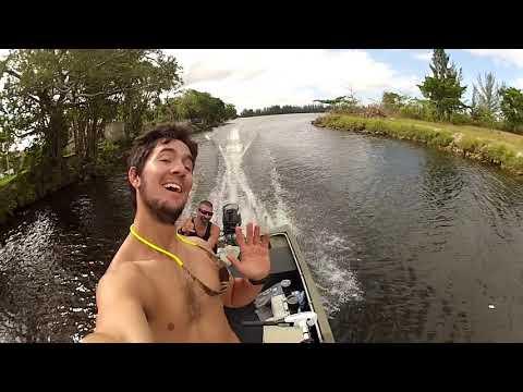 Miami canal ride